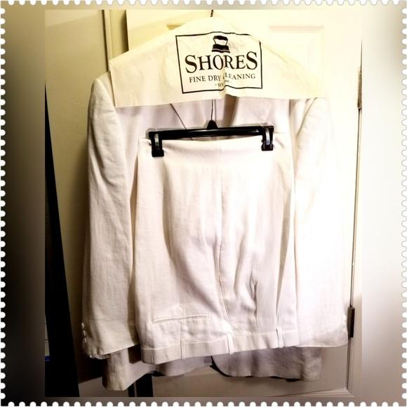 Argyle Culture Other - Russell Simmons Argyle Culture 100% Linen Suit 40W